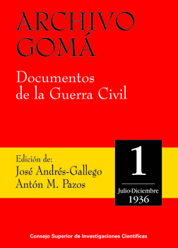 Archivo Gomá: documentos de la Guerra Civil