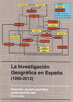 Geographical research in Spain (1990-2012)