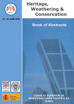 Heritage, weathering and conservation: book of abstracts