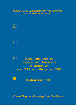 Contributions to Search and Inference Algorithms for CSP and Weighted CSP