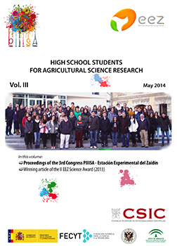 High School Students for Agricultural Science Research. Vol. III